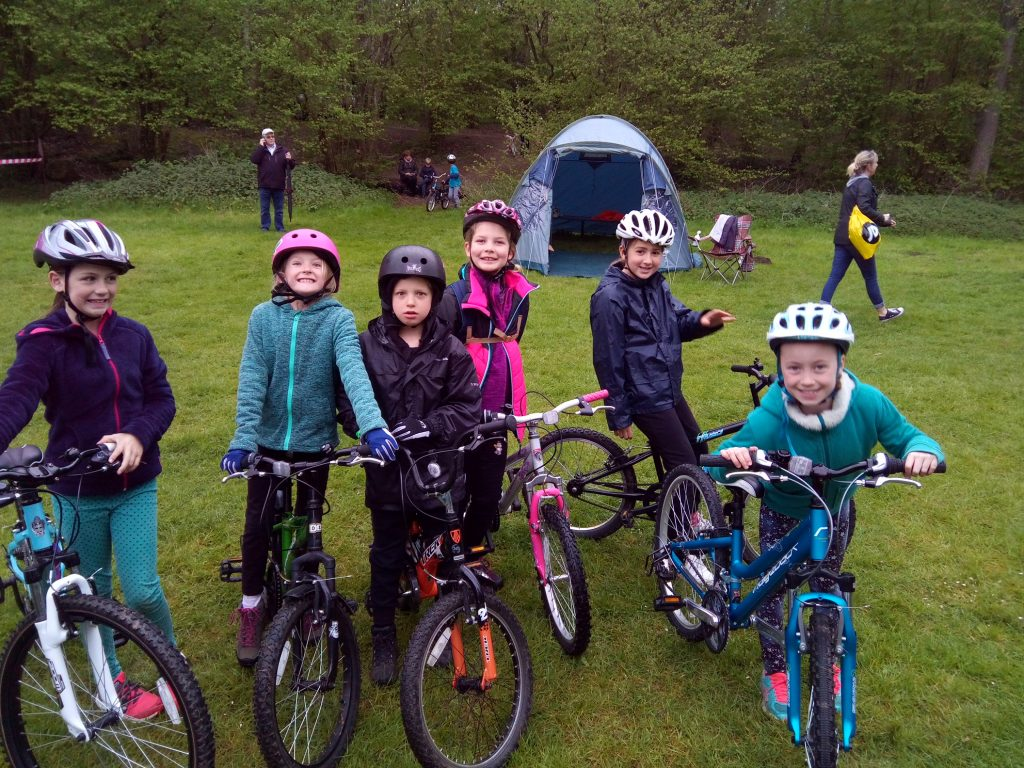 District Cyclo cross competition